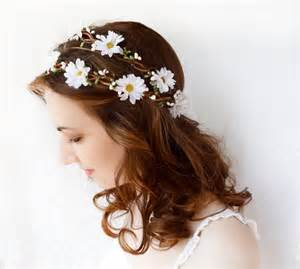 flower accessories flower crown wedding headband flower crown bridal headpiece hippie flower crown