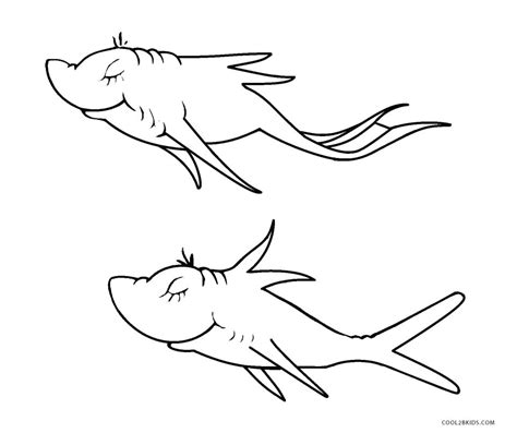 red fish coloring page red fish pages coloring pages
