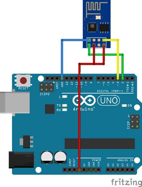 esp8266 tutorial arduino uno esp8266 wifi webserver via een arduino at