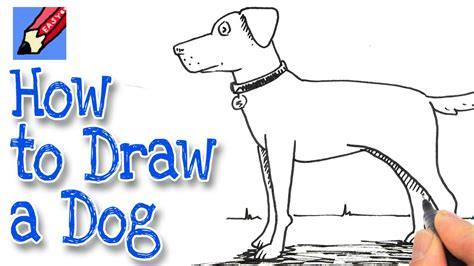 how to draw a puppy easy how to draw a real easy kidlit tv