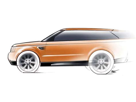 range rover sketch range rover concept sketch land rovers pinterest
