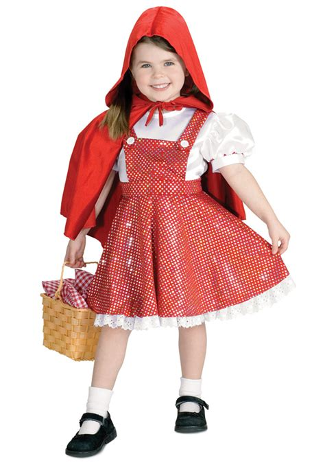 little red riding hood costumes adult kids red riding sequin child riding hood costume toddler little red