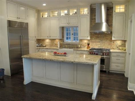 award winning kitchen with brick backsplash chicago kitchen brick backsplash photos