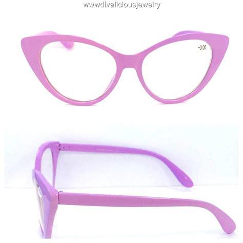 big cat eye readers reading glasses 5 colors ebay