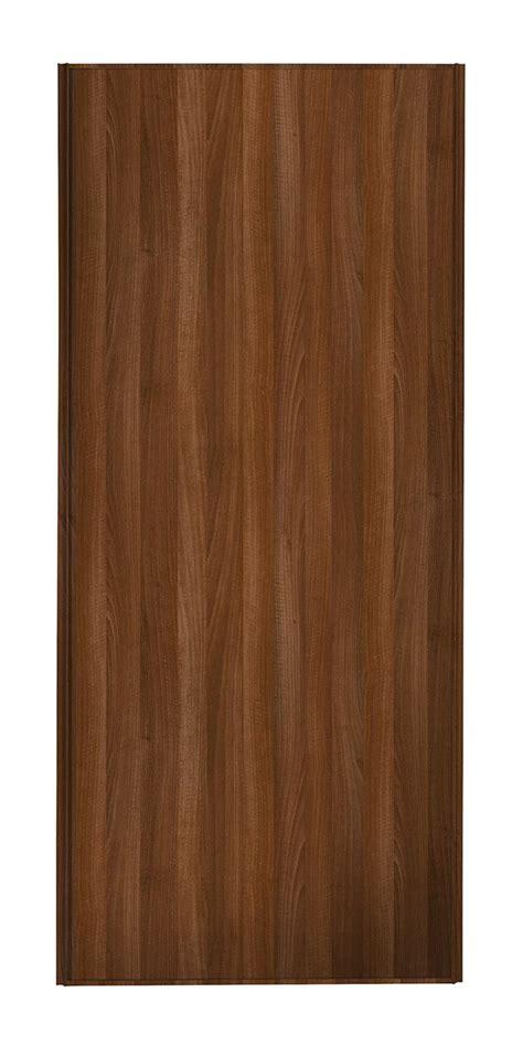 walnut frame walnut panel sliding wardrobe door