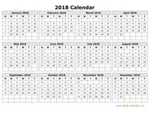 Calendar 2018 Maker Free Printable Pdf Calendar Monthly Yearly