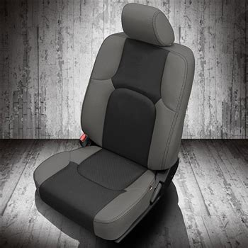 nissan frontier crew cab katzkin leather seat upholstery