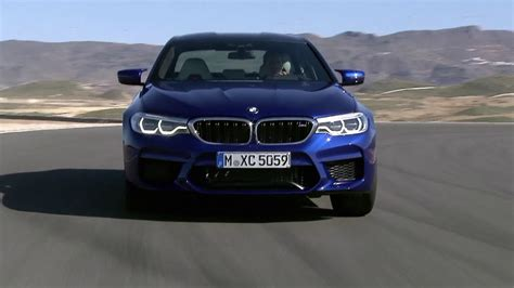 m5 f90 2018 bmw m5 f90 on race track