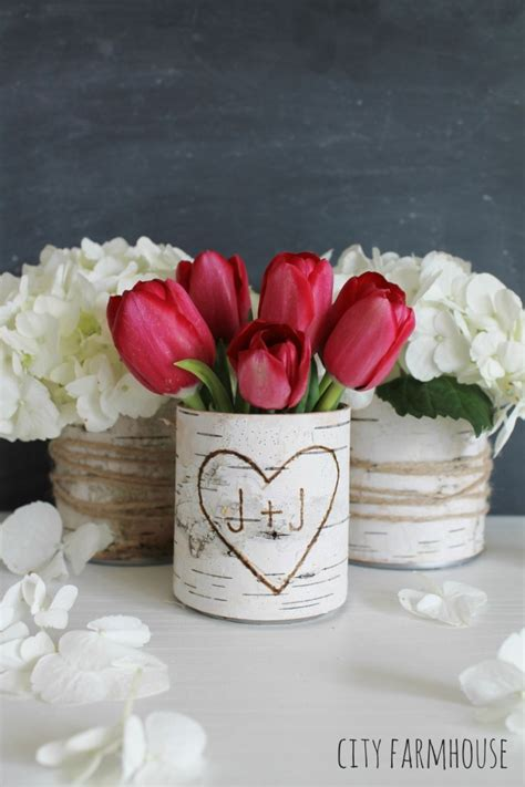 Home Decor Vase by 25 Recycled Tin Can Crafts And Projects