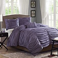 madison park delancey plum 4 piece comforter set bed