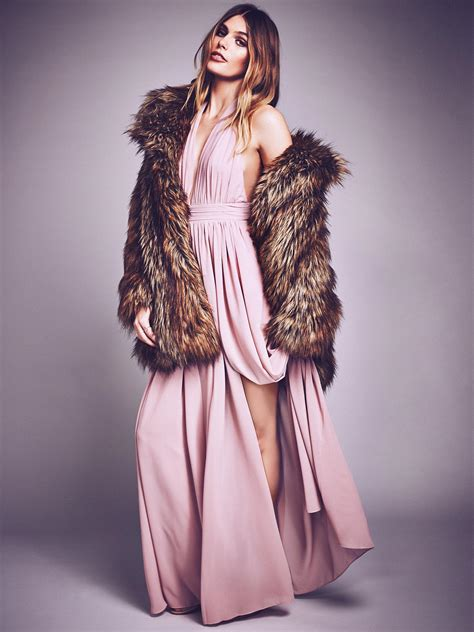 Athea Maxi free athea open back maxi dress in pink lyst