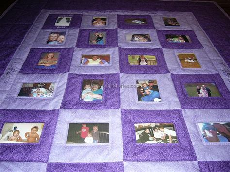 Memory Quilt Patterns by Photo Quilts