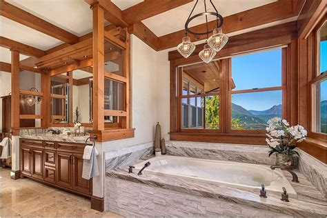 Mountain Home Bathroom Design by Framed To Perfection 15 Bathrooms With Majestic Mountain
