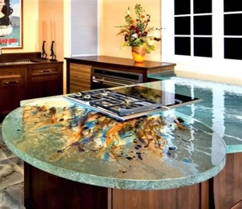 unique kitchen countertop ideas 30 unique kitchen countertops of different materials