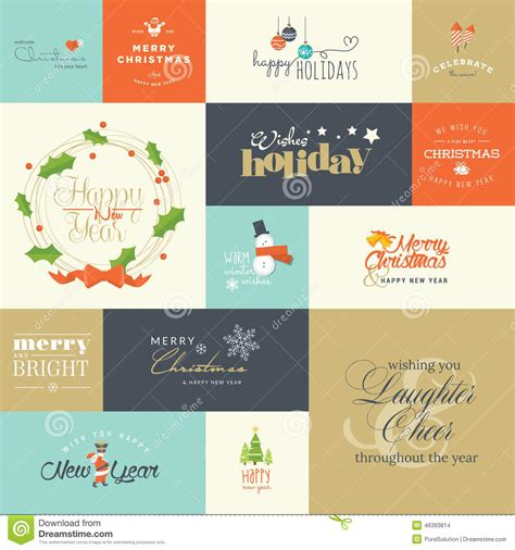 materials required for greeting cards flat design elements for and new year greeting