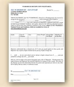 warehouse receipt template warehouse space flatbed transportation drivers