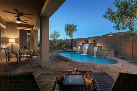 Backyard Pools In Arizona A Backyard In Arizona Outdoor Living