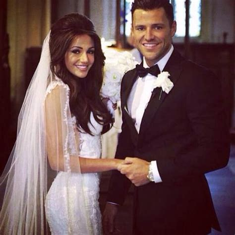 michelle keegan wedding dress revealed mark wright shares celebrity wedding michelle keegan and mark wright the