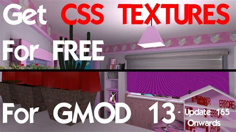 Css Textures For Gmod 13 Download Gmod Website Template