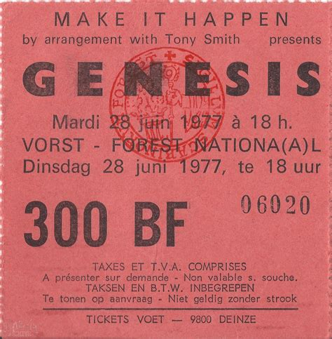 genesis tickets wind and wuthering tour the genesis archive