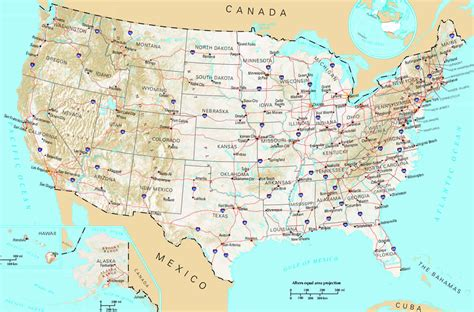 usa height map united states population land height map