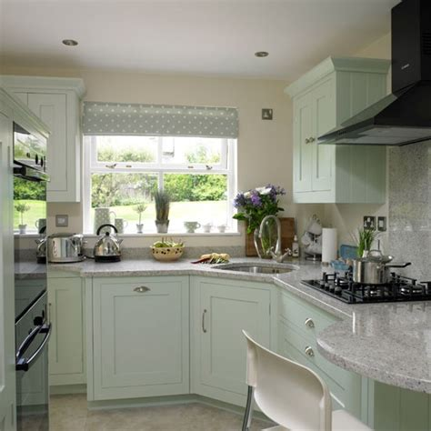 Green Country Kitchen Soft Green Country Kitchen Country Kitchen Ideas Housetohome Co Uk