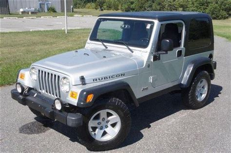 Jeep 2004 For Sale Sell Used 2004 Jeep Wrangler Rubicon For Sale Low