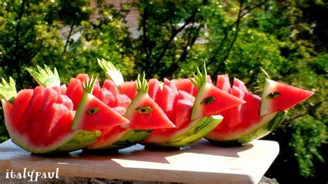 fruit garnish italypaul in fruit vegetable carving lessons