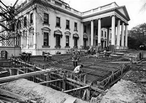 white house remodel president harry truman s white house renovation urban ghosts