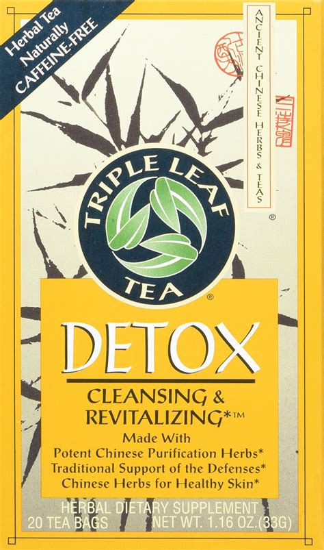 Medicinal Tea Detox Leaf Tea 20 Bag by Leaf Tea Tea Herbal Laxative 20 Bag