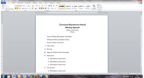 word training schedule template free word templates