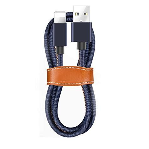 Aluminium Alloy Braided Usb Cable For Smartphone Hitam 100 Cm 1 usb cable durable braided lightning cable sewn