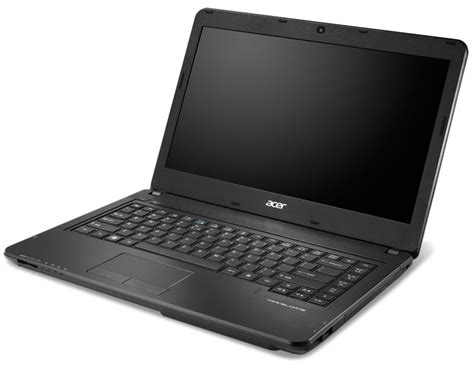 Laptop Acer P243 by Acer Travelmate P243 Notebook Launches With Bioprotection