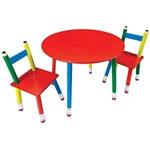 Pencil Table And Chair Set by Currently Unavailable We