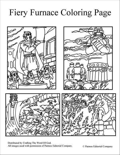 shadrach meshach and abednego coloring page shadrach meshach and abednego coloring pages