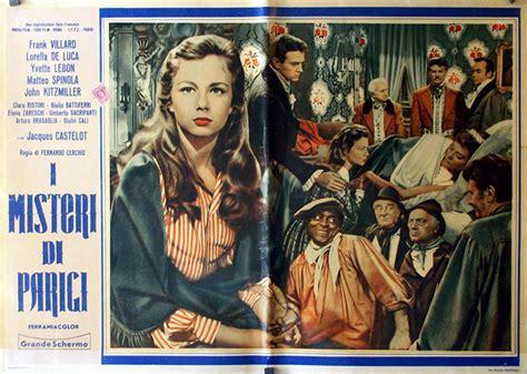 misteri film legion quot i misteri di parigi quot movie poster quot misterios de paris
