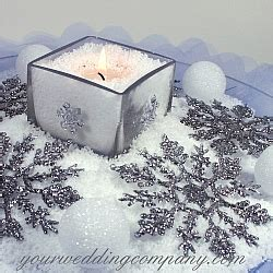 How To Make Artificial Snow For Decorations by Artificial Snow Instant Vase Filler Confetti