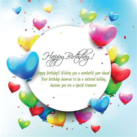 Wishing A Happy Birthday Happy Birthday Wishing You A Wonderful Year Ahead ツ