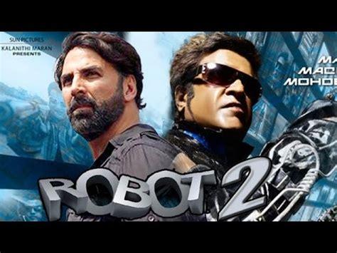 hindi film robot video songs akshay kumar to play villain in rajnikanth s robot 2