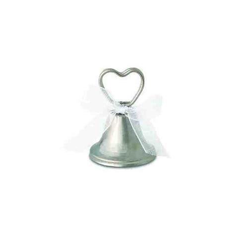 silver bell tree holder silver bell place card holder
