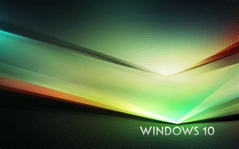 abstract themes for windows 10 download wallpaper 1280x800 windows 10 theme green