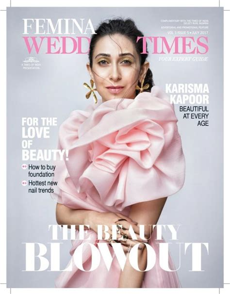 Pretty In Pink Lifestyle Magazine by Beautiful At Every Age Karisma Kapoor Looks Pretty In