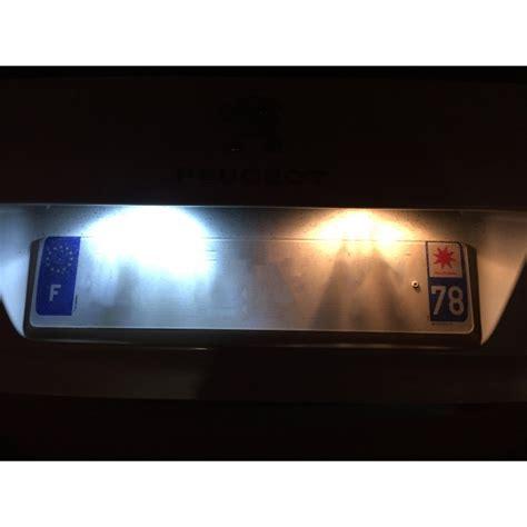 eclairage tableau led pile eclairage de plaque led blanche pour volvo xc90 kit led de