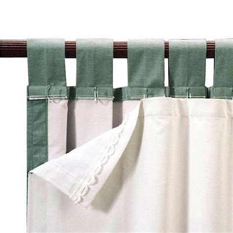 Blackout Liners For Curtains Roc Lon Blackout Energy Efficient Curtain Panel Liner White Decor Walmart