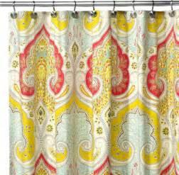 Echo Design Curtains Echo Design Jaipur Fabric Shower Curtain Contemporary Shower Curtains By Bed Bath Beyond