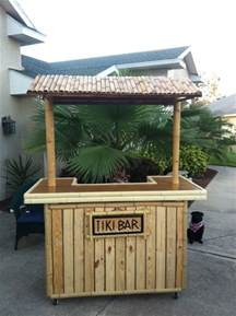 Tiki Bar Building Plans Diy Pallet Tiki Bar Pallets Designs