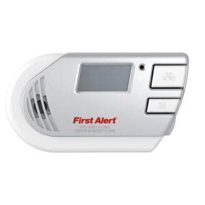 alert in explosive gas and carbon monoxide