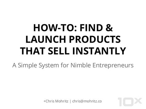 How To Find That Sell How To Find Launch Products That Sell Instantly
