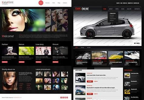 www templatemonster free templates 2 free responsive templates from templatemonster