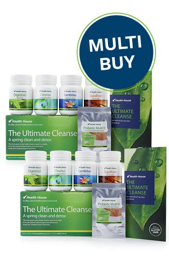 Detox Kit Nz by Health House Quality Health Products That Work